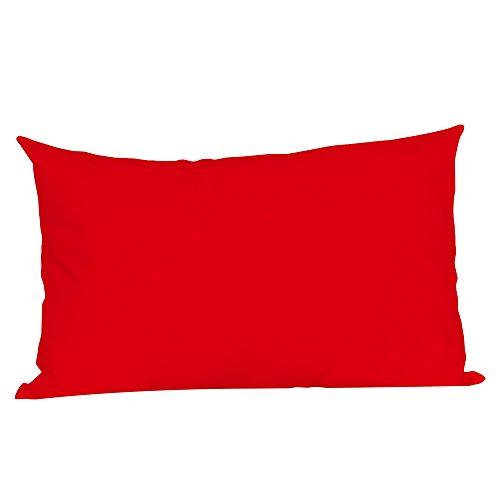 Taie d'oreiller,Housses de Coussin Confortable Coussin de canapé Chambre Super Doux Oreiller Lombaire Throw Pillow Coussins Housse d'oreiller Oreiller Couvre Couleur Unie 50 * 75cm Style 12 WINJIN