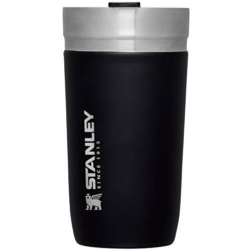 STANLEY(スタンレー) 新ロゴ ゴーシリーズ 真空タンブラー 0.47L マットブラック 保温 保冷 アウトドア 保証 09543-003 (日本正規品)