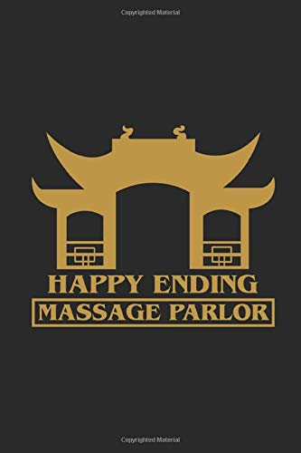 Happy Ending Massage Parlor: Graph Paper Notebook (6' x 9' - 120 pages) ~ Thailand Themed Notebook for Gift / Daily Activity Journals / Diary