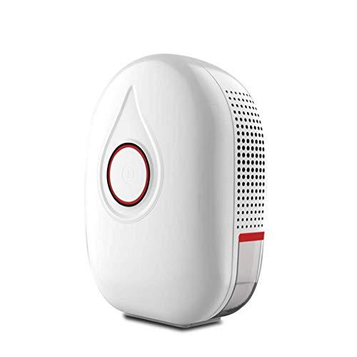 GGRYX Dehumidifier with Air Purifier, Mini Dehumidifier Compact Portable, Electric Dehumidifier Detachable Water Tank, Timerbetrieb Air Dehumidifier, Air Purification Function,Red