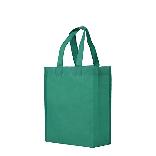 Reusable Gift / Party / Lunch Tote Bags - 25 Pack - Teal