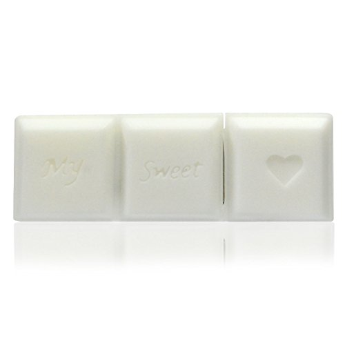 Preisvergleich Produktbild 818-Shop No17300010128 USB-Sticks 128GB Riegel Schokolade 3D weiß