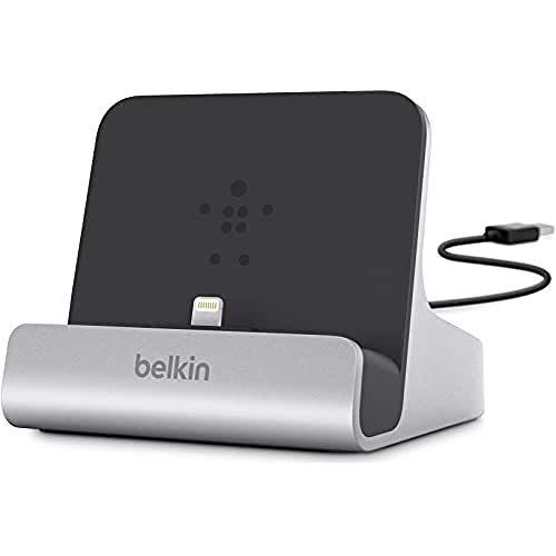 Belkin Express Dock (1,2 m, integriertem USB-Kabel, geeignet für iPad, iPhone 8/8 Plus, iPhone X, iPhone 6/6s/6 Plus/6s Plus, iPhone 7/7 Plus, iPhone SE)