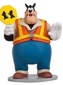 Mickey Mouse Clubhouse Policeman Fireman Pete Pvc Cake Topper 3' Figure