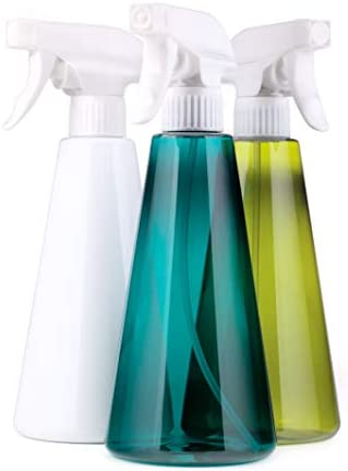 Empty Plastic Spray Bottles 16 oz 500 ml Set of 3 Refillable Trigger Sprayer with OFF Mist and product image