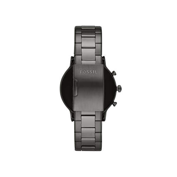 Fossil Smartwatch Gen 5 para Hombre con pantalla táctil, altavoz, frecuencia cardíaca, GPS, NFC y notificaciones… 6