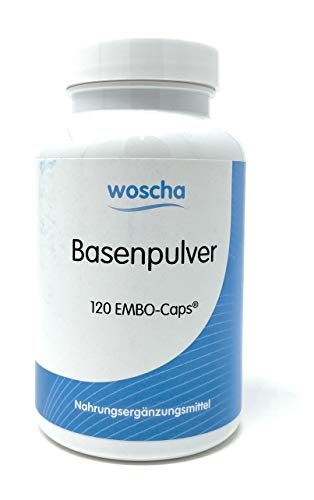 woscha Basenpulver 120 Embo-Caps® (116g) (vegan)