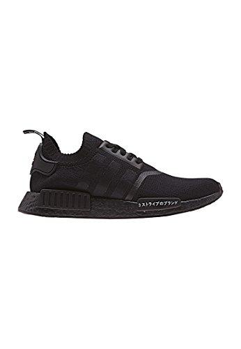 Adidas Herren NMD R1 Primeknit Sneaker, Schwarz (Negbas/Negbas/Negbas), 38 EU