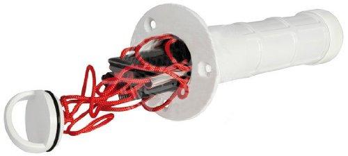 Osculati Rettungsleiter mit 3 Stufen für den Einbau mit vorderen Schrauben