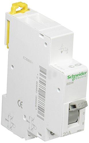 Schneider Electric A9E18073 Conmutador lineal 3 posiciones, 20 A, 230 V