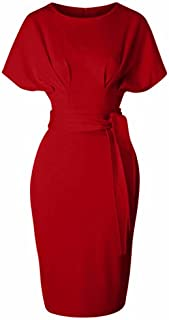 GownTown Women's 50s 60s Vintage Sexy Fitted Office...