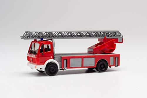 herpa 94108 SK 88 Drehleiter Feuerwehr Fahrzeug in Miniatur zum Basteln, Sammeln und als Geschenk