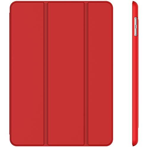 JETech Custodia iPad (9,7 Pollici, 2018/2017 Modello, 6/5 Generazione), Cover con Auto Svegliati/Sonno, Rosso