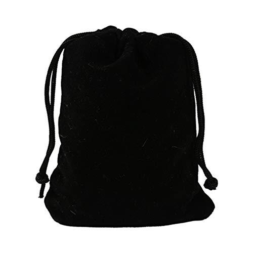 Egurs 10pcs Bolsas con cordón de Terciopelo Bolsas de Regalo de Boda Bolsas de Dulces Bolsas para Joyas 20x30cm