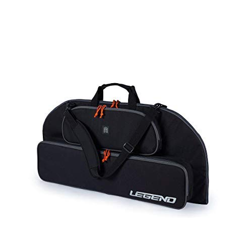 Legend Bowarmor 92 Soft Compound Bow Case - Carry Your Archery Accessories - Thick Protective Padding, Strong Nylon Fabric and Soft Lining