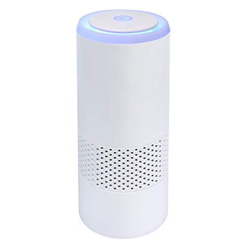Portable Air Purifier for car with Real HEPA Filter,Aromatherapy Filter,ionizer air freshener USB, Negative ion air Filter for Cigarette Smoke, Bacteria, dust, Allergies, Odors and Dander