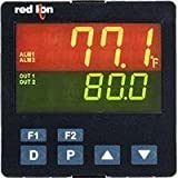 Red Lion Controls/N-Tron PXU41AE0 Temperature/Process Controller,1/4 LINV, RLY, 485, USR, DC