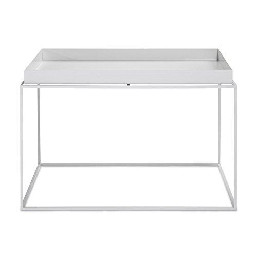 HAY Beistelltisch, Stahl, weiß, 60 cm