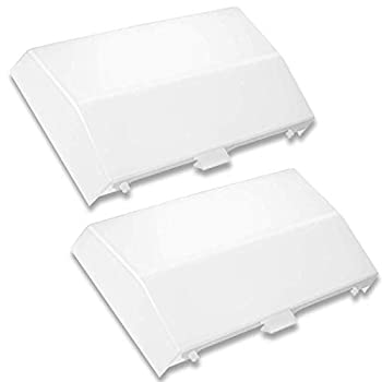 2-Pack  89108000 The Exact Replacement   Compatible with Nutone Bathroom Vent Fan Light Lens Cover 763RLN