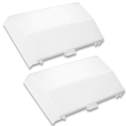 (2-Pack) 89108000 The Exact Replacement | Compatible with Nutone Bathroom Vent Fan Light Lens Cover 763RLN