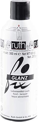 Lebensmittellack Glanzspray 300 ml, 257 g