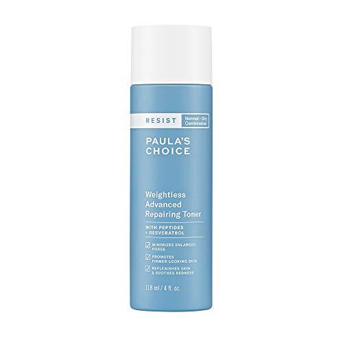 Paula's Choice Resist Weightless Advanced Repairing Toner, Niacinamide & Hyaluronic Acid, Wrinkles & Large Pores, Oily Skin, 4 Ounce