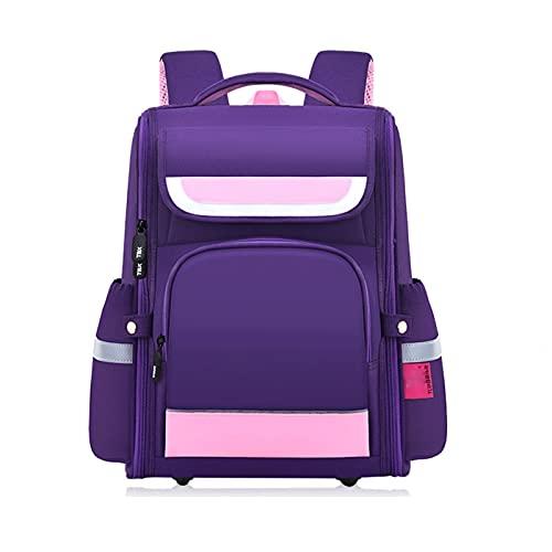 Mochilas impermeables para niños, mini mochila, quiropráctica que alivia ligeramente la carga, mochila preescolar para niños y niñas, mochila de viaje linda (color: B, tamaño: pequeño)
