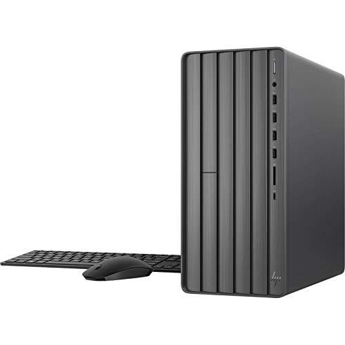2021 Newest HP ENVY Desktop, 10th Gen Intel Core i7-10700F 8-Core Processor, NVIDIA GeForce GTX 1660 Super 6GB Graphics, 32GB DDR4 Memory, 512GB SSD + 1TB HDD, DVD, WiFi, Windows 10 Home, KKE Mousepad