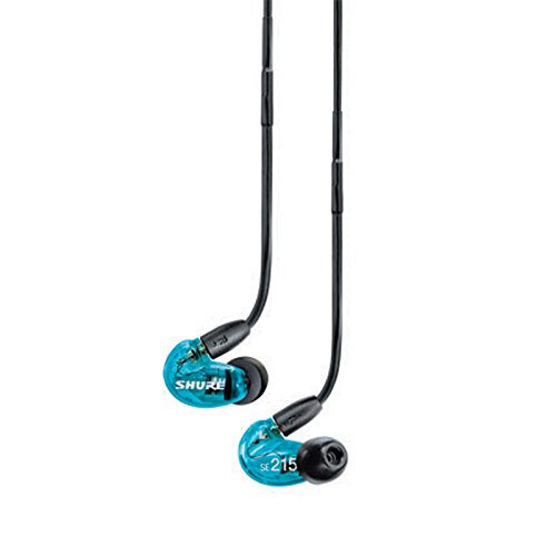 SHURE SE215 Sound Isolating Earphones Headphones SE215SPE Special Edition Blue (International...