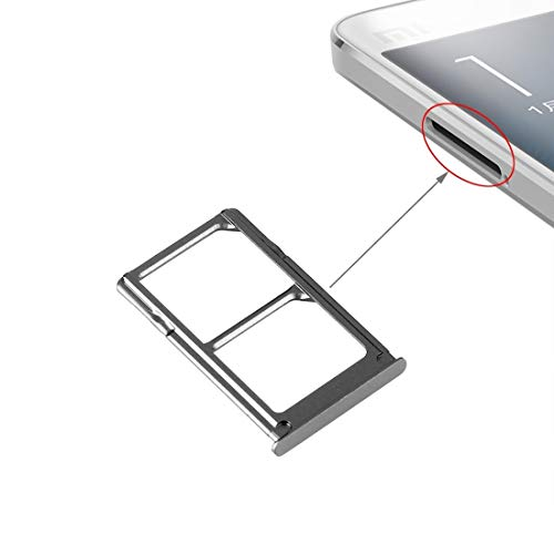 MDYH HDZ ADT SIM Bandeja de Tarjeta de Xiaomi MI 5 (Negro) (Color : Black)