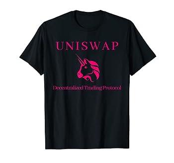 Uniswap Ethereum Decentralized Exchange Cryptocurrency DeFi T-Shirt