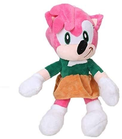 Knuffels Set Van 2 stuks 27cm Sonic Toys Super Sonic The Hedgehog Plush Toy Sonic Shadow Knuckles Tails Cute Soft Gevulde Doll Keychain dljyy