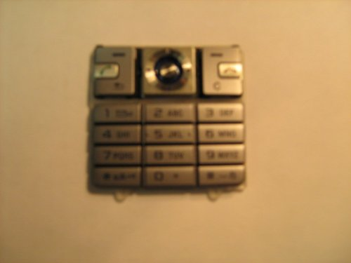 Original Sony Ericsson K610 Silber Handy Tastatur Matte, Keymat, Ersatzteil