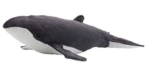 WWF WWF00347 Plüsch Buckelwal, realistisch gestaltetes Plüschtier, ca. 33 cm groß und wunderbar weich