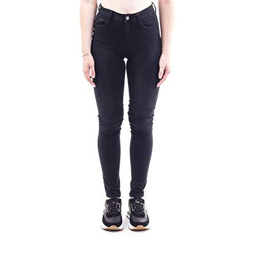 Liu Jo Damen UXX037D4199 Skinny Jeans, Schwarz (Den.Black Lofty Wash 87174), W28/L30