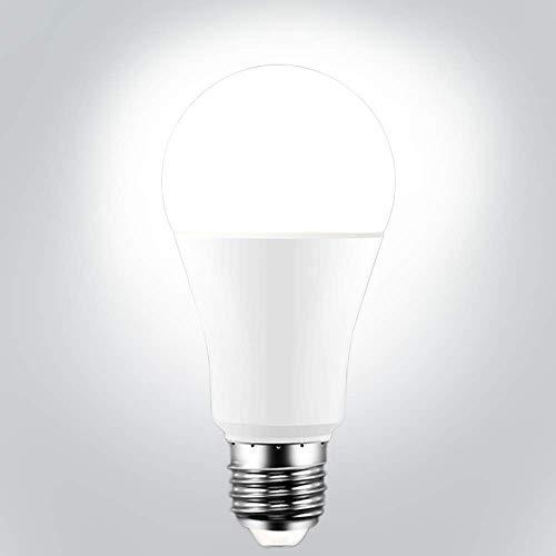 TiooDre Lampadina, Lampadina Smart WiFi 15W con luce bianca, Controllo vocale Dimmerabile Luminosità, Alta luminosità Risparmio energetico, Alexa Google Home Voice Control 1PC