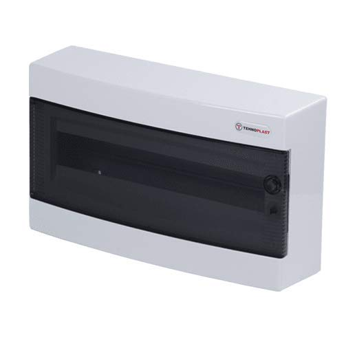 CABLEPELADO Caja distribucion electrica Superficie IP40 de 18 modulos Blanco