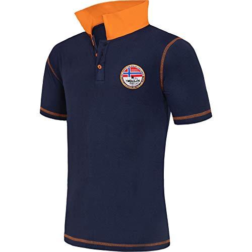 Nebulus Poloshirt Entertain Herren (Model: P5401 - Herren, Navy; Größe: XXL) FBA