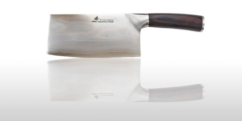 ZHEN A7P Japanese VG-10 67 Layers Damascus Steel Light Slicer Chopping chef butcher Knife 6.5-inch , silver