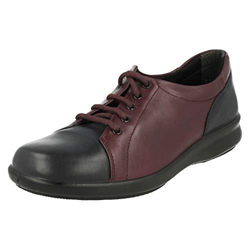 Db Shoes , Chaussures de Ville à Lacets pour Femme - - Navy/Plum, 36