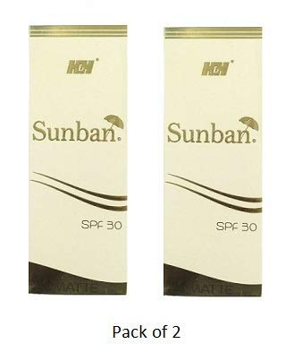 Sunban Matte Gel (SPF 30) (75 gm) (Pack of 2)