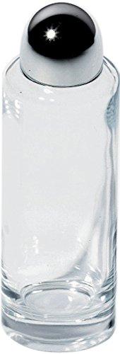 Alessi 5074/AO Contenitore per Olio o Aceto, Cristallo/Acciaio, Lucido