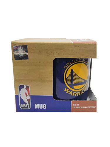 Franco Panini. Taza de desayuno NBA Golden State Warriors de porcelana, 350 ml