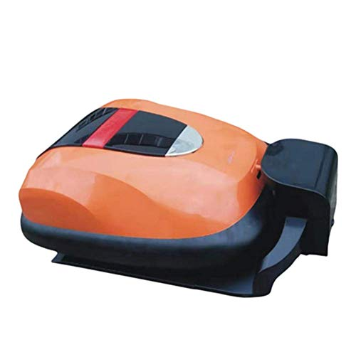 Robótica cortadora de césped, con Pilas segadora 12,6 Pulgadas de siega Inteligente Robot cortacésped, Conveniente for Las Yardas hasta 2000m2 SLONGS