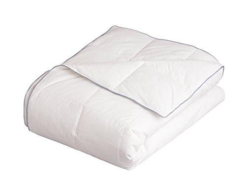 Allied Essentials Serenity Cool Sleep Blanket, Twin, White