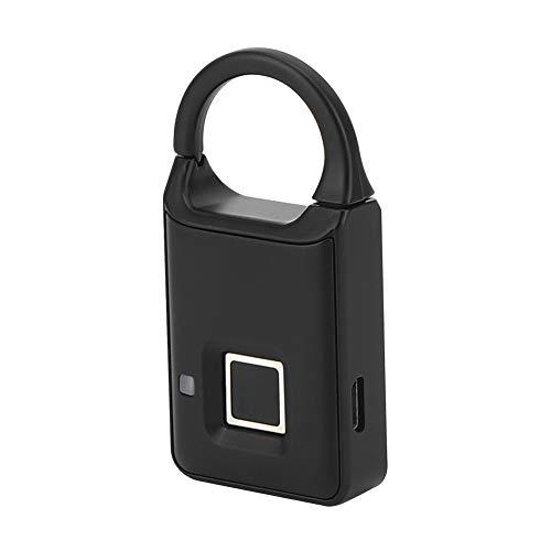 Blocco dell'impronta digitale, lucchetto dell'impronta digitale, blocco della valigia, altamente sensibile, comodo e resistente all'usura per la scuola della borsa della palestra
