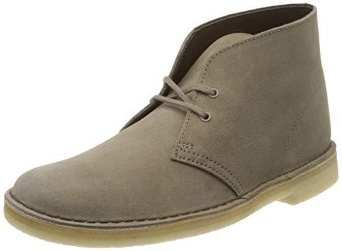 Clarks Originals Boot, Stivali Desert Boots Uomo, Grigio (Mushroom Sde Mushroom Sde), 42 EU