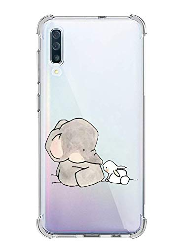 Suhctup Funda Transparent Compatible para Huawei Nova 3,Carcasa Protectora [Antigolpes] Suave Silicona TPU Bumper Cojín de Aire de Cuatro Esquinas Protector Gel para Huawei Nova 3,A16