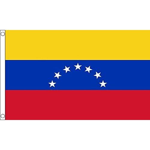 Venezuela 8 stars 5ft x 3ft Flag Banner 150cm x 90cm