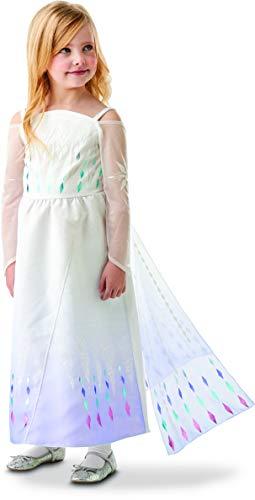Rubie's - Déguisement Luxe Epilogue Officiel - Elsa La Reine des Neiges 2, enfant, I-300779L, Taille L 7 à 8 ans